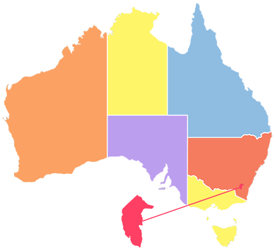 National Bushfires Map